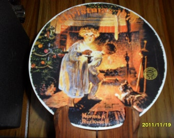 1979 Norman Rockwell Christmas Plate