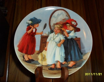 """1986 Jeanne Down's """"High Society"""" Plate"""