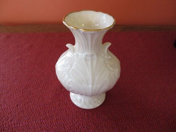 Vintage Lenox Elfin Bud Vase With 24 K Gold Trim Never Used