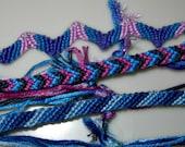 custom tri-color friendship bracelet
