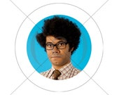 Maurice Moss Button 1.25 inch The IT Crowd