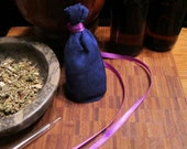 Dreaming Herbal Pouch - with Mugwort (sachet, pillow)
