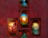 Moon Phases Tarot Reading Spread Layout