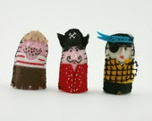 Imagination Felt Finger Puppet Set. Customize and Choose any 3 here.