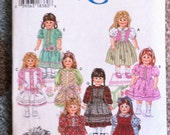 Simplicity Crafts 9856 Doll Clothes