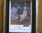 Star Wars Movie Print With Custom Made Welded Metal Frame