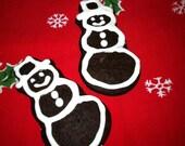 One Dozen Gingerbread Snowmen