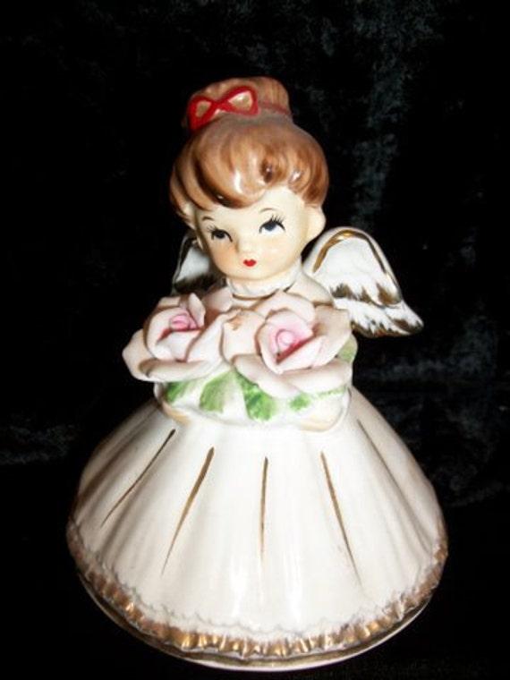 Lefton Musical Angel Figurine