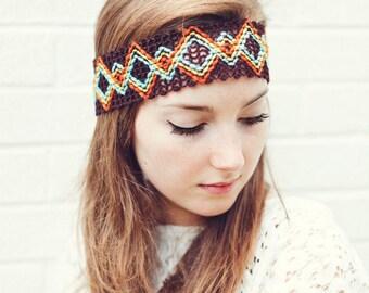 Tribal Headband - great Bohemian style