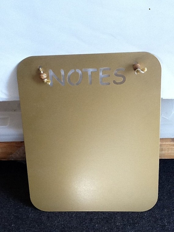 Metal Magnetic Message Board