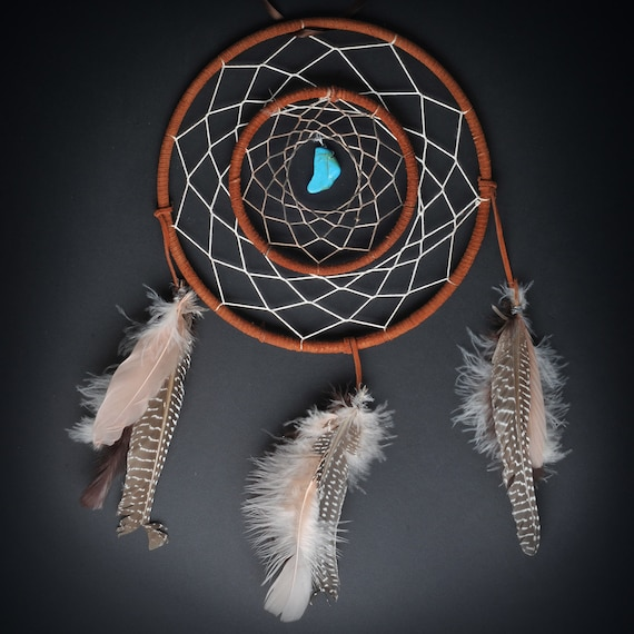 Items similar to double ring large dream catcher on etsy for How to make a double ring dreamcatcher