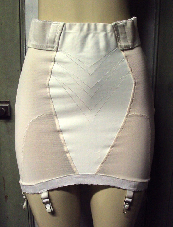 Vintage Playtex Pink Open Bottom Girdle By