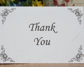 4x6 THANK YOU Cards (Design 10) - set of 35 (Add a personal message for free)