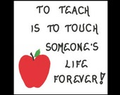 Magnet  -  Teacher -  Quote, appreication, thank you, instructor, tutor, educator