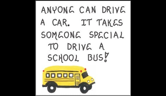 Bus driver gift magnet Schoolbus operator by TheMagnificentMagnet