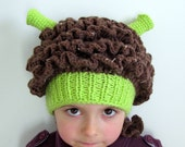 FIONA Ogre Knit Hat - Baby, Toddler, Child