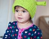 FREE WORLDWIDE SHIPPING - Shrek Ogre knit Hat - Baby, Toddler, Child