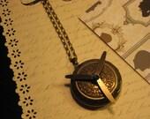 Steampunk Ornate Propellor Locket
