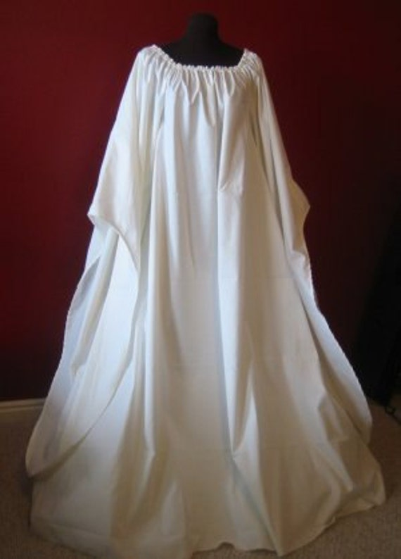 Full Length Beautiful Angel Chemise Renaissance Under Dress
