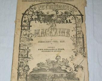 Peterson's Magazine - Feb 1864