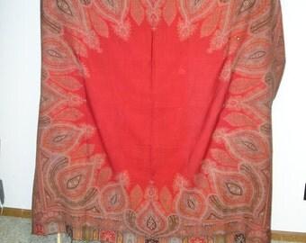1840-50s paisley shawl