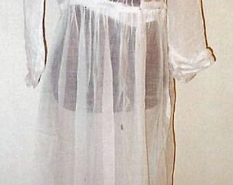 "1913 Lawn or ""Croquet"" Dress"