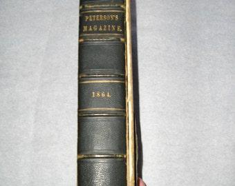 Peterson's Magazine 1864 (M)