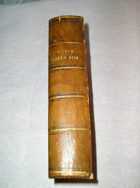 Godey's Ladys Book 1861 (M)