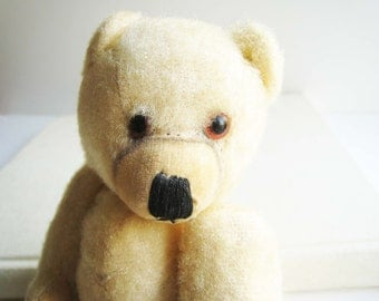 Vintage Jointed Bear with Back Hump