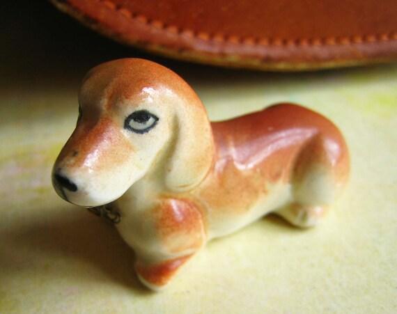 Vintage dachshund figurine