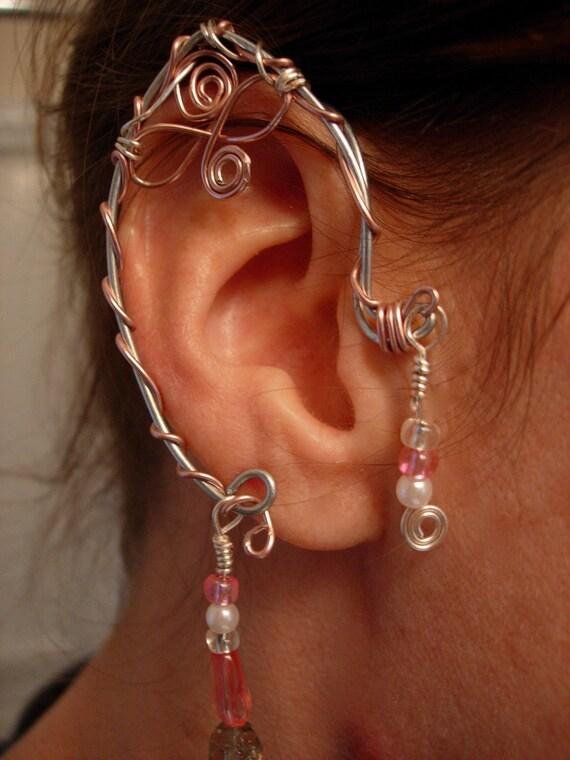 Pair of Elf Ear Cuffs, non pierced earring