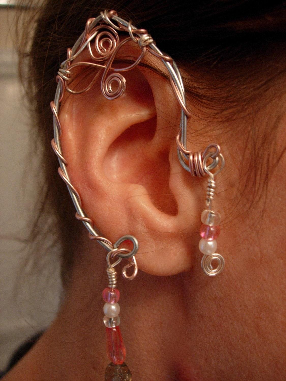 Pair Of Elf Ear Cuffs Non Pierced Earring