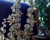 Syroco Lupine Floral Art. Mid Century Modern 1964, Perfect Condition.