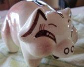 Vintage Pig Piggy Bank Dollar Sign