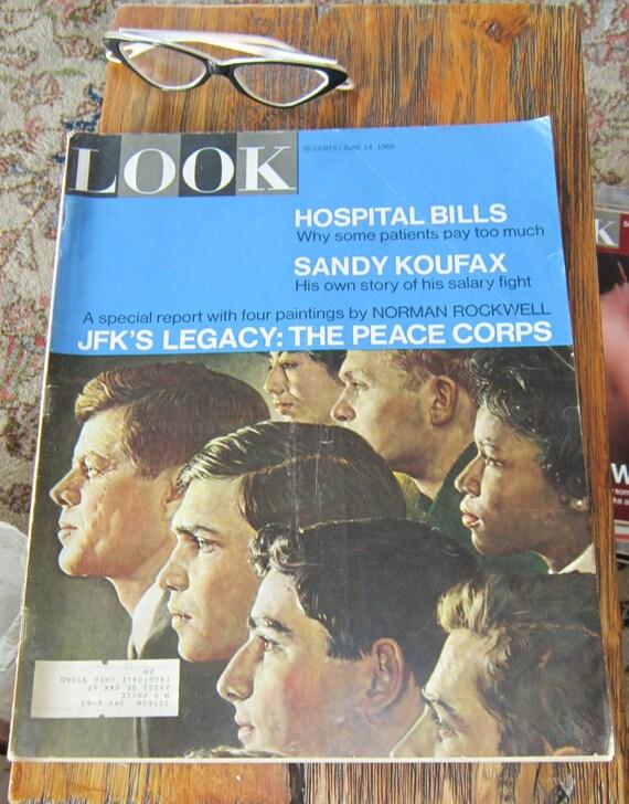 Look Magazine June 14, 1966 - Norman Rockwell