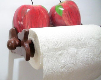 Wooden Paper Towel Holder