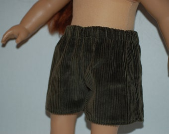 "Clearance American Girl Doll Shorts  (18"" Doll)"