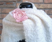SnowFlake - Wool Wedding Shawl