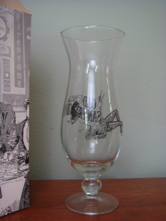 Vintage Glasses Old San Francisco Hurricane by retrocorrect