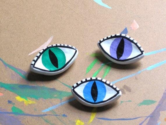 Third Eye Evil Eye Brooch Pin