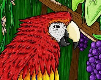 Jungle Paradise 8x10 Print