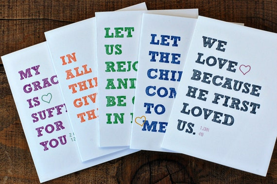 Custom Listing for Abby Bold Encouragement Greeting Cards - Set of 20