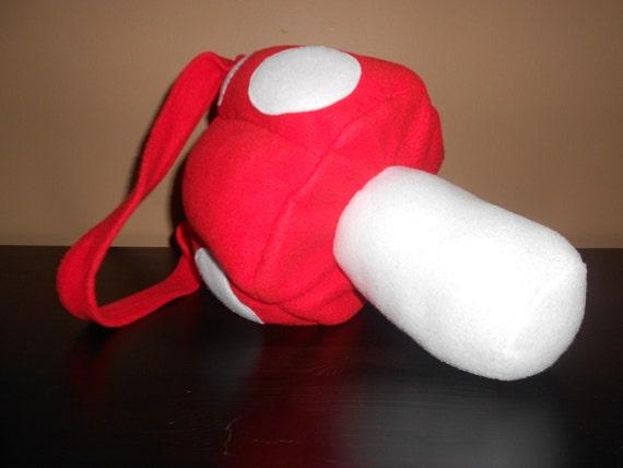 Super Mario Mushroom Purse (Red/White)