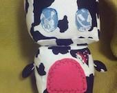 Cow Folk Robot Creature Plush