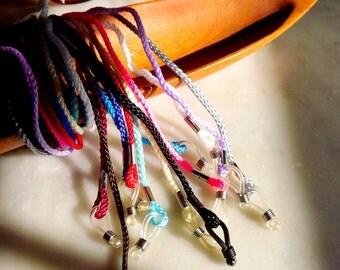 Eyeglass Chain, U PICK 5 Woven String Glasses Chain Rope Cord Lanyard, Sunglass Chain, Eyeglasses Eyewear Accessory