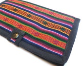 RESERVED for penny Vintage Ethnic Nepalese Envelope Wallet / Clutch
