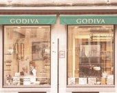 "Godiva shop chocolatier photography - Travel Brussels photograph - Famous chocolate - 8x10 ""Godiva chocolatier"""