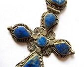 Lapis Gypsy Pendant