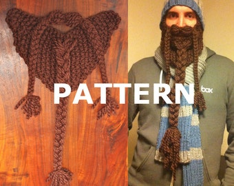 Pattern for Knit Beard