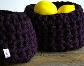 Little Purple Basket